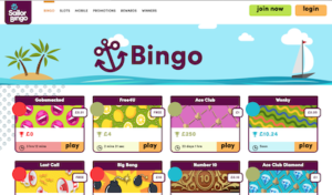 Sailor Bingo Screenshot