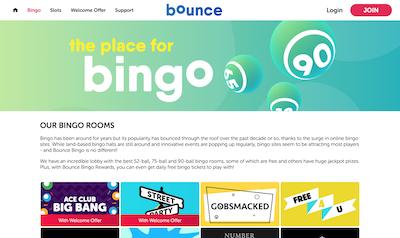Bounce Bingo Screenshot