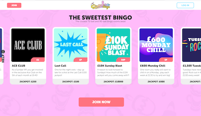 Sundae Bingo Screenshot