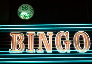 bingo neon sign screenshot