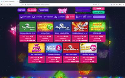 Crystal Slots Screenshot