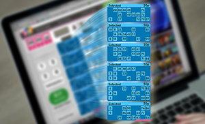 90-ball bingo strip screenshot