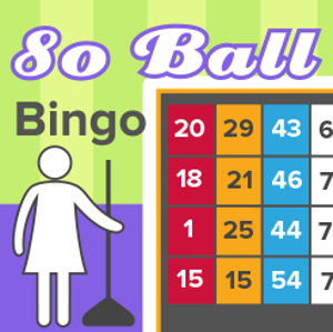 80-ball bingo screenshot