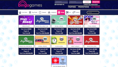 Bingo Games Screenshot