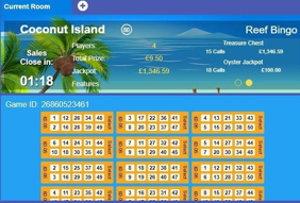 gala bingo coconut island screenshot