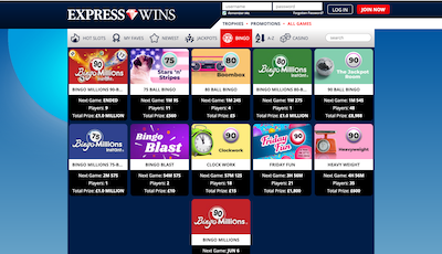 Express Wins Screenshot