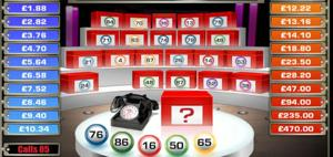 deal or no deal bingo game screenshot