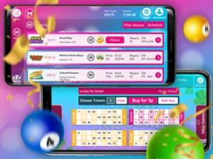 mobile online bingo app screenshot