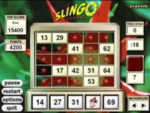 slingo classic screenshot