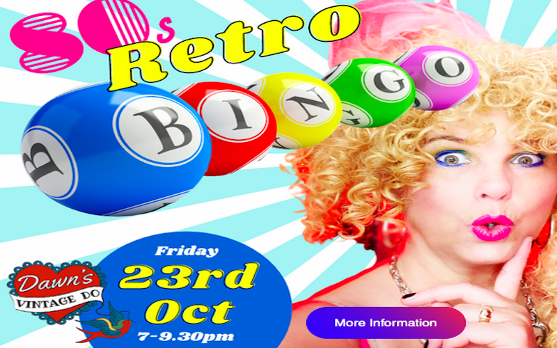 Chichester Cabaret Artist Hosts Retro Bingo Night To Combat Winter Blues