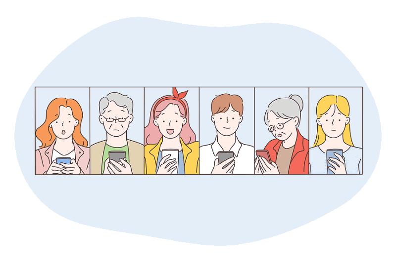 chat room cartoon