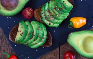 avocado on toast screenshot