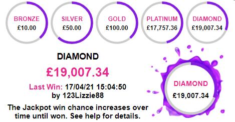bingo jackpot countdown clock