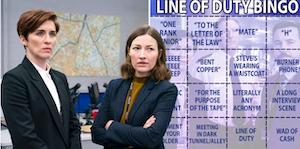 line of duty cast bingo card screenshot