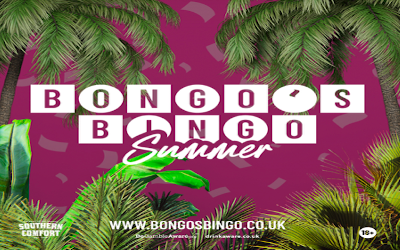 Bongo's Bingo – Live Events Back With A Bang This Summer
